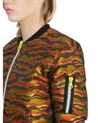 House of Holland - Yellow My Pussy Bomber Jacket for Men - Lyst