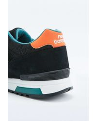 New Balance | 565 Black And Orange Trainers for Men | Lyst