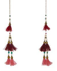 Isabel Marant - Metallic Mild Tassel Wrap Necklace - Lyst