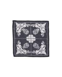 Chan Luu   Multicolor Handkerchief Scarf - Paloma/white   Lyst