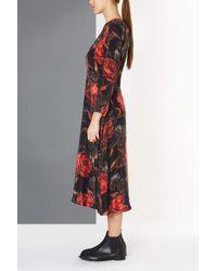 TOPSHOP - Multicolor Garden Floral Dress By Boutique - Lyst