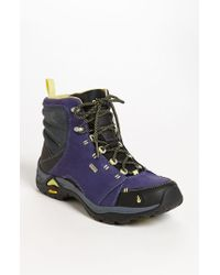 Ahnu | Blue Montara Hiking Boots | Lyst