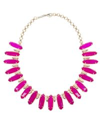Kendra Scott | Gabriella Necklace, Pink | Lyst