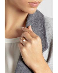 Sophie Bille Brahe - Metallic Perle 14-Karat Gold Pearl Ring - Lyst