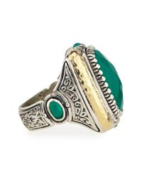 Konstantino | Green Onyx Ring Size 7 | Lyst
