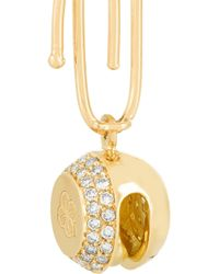 Aurelie Bidermann - Metallic 18-Karat Gold Diamond Bell Charm - Lyst