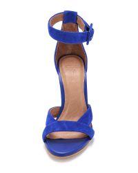 Joie - Blue Alvita Naked Suede Sandal - Lyst