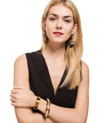 BaubleBar | Multicolor Pavé Tortoise Links | Lyst