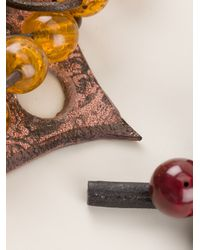 Oui, Odile! - Purple Beaded Necklace - Lyst