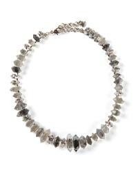 Delphine Charlotte Parmentier | Metallic 'Misfit5' Necklace | Lyst