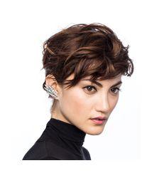 Lulu Frost - Metallic Datura Ear Cuff - Silver - Lyst