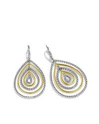 David Yurman - Metallic Mobile Drop Earrings with Gold - Lyst
