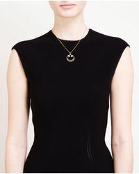 Rosa De La Cruz - Metallic 18-karat Gold Smile Necklace - Lyst