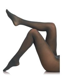 Fogal | Gray Semi Opaque Tights | Lyst
