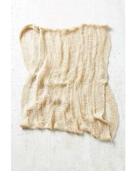 Urban Outfitters - Natural Drop Needle Shred Eternity Scarf - Lyst