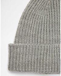 ASOS - Purple Fisherman Beanie Hat 2 Pack Save 17% for Men - Lyst