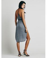 Free People | Gray Fp Beach Womens Kingston Dress | Lyst