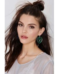 Nasty Gal | Pink Suzywan Deluxe Spaced Out Iridescent Earrings | Lyst