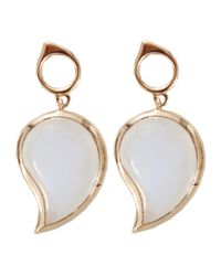 Tamara Comolli - Metallic Large Single Drop Earrings - Lyst