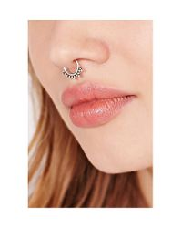 Urban Outfitters - Metallic Zoya Faux Nose Ring - Lyst