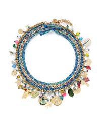 Venessa Arizaga - Multicolor 'just Ride' Necklace - Lyst