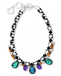 Forest Of Chintz | Multicolor Crystal And Beads Necklace | Lyst