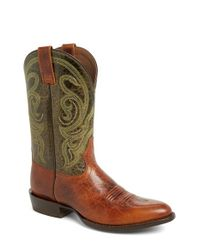 Ariat | Brown 'bandera' Cowboy Boot for Men | Lyst