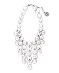 Natalie B. Jewelry - Metallic Natalie B. Tears Of Joy Necklace In Silver - Lyst