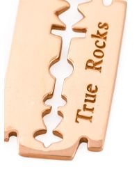 True Rocks | Pink 'razor Blade' Necklace for Men | Lyst