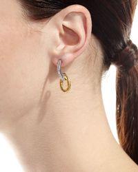 Gurhan | Metallic Galahad Double-drop Earrings | Lyst