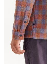 Patagonia | Purple Fjord Flannel Button-down Shirt for Men | Lyst