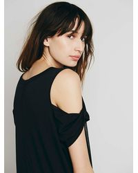 Free People - Black We The Free Womens We The Free Kick Around Graphic Maxi - Lyst