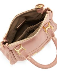Chloé | Pink Marcie Mini Shoulder Bag | Lyst