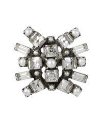 DANNIJO | Metallic Vern Ring | Lyst