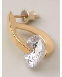 Uzerai Edits | Metallic 'futurism' Earrings | Lyst
