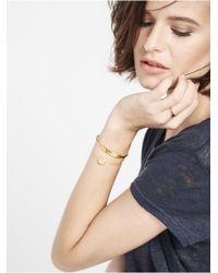 BaubleBar - Metallic Disc Bracelet - Monogram - Lyst
