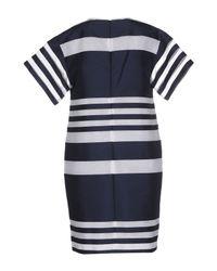Piazza Sempione - Blue Short Dress - Lyst