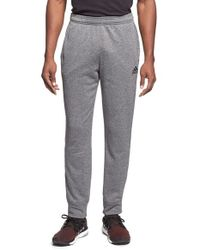 Adidas | Gray 'ultimate Tappered' Training Pants for Men | Lyst