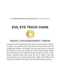 ALEX AND ANI   Metallic Precious Metals Evil Eye Track Pull Chain Bracelet   Lyst