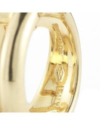 Tiffany & Co. - Multicolor Pre-Owned: Diagonal Wire Hoop Earrings In 18Ky - Lyst