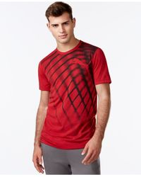 PUMA | Red Men's Blur T-shirt for Men | Lyst