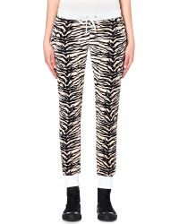 Juicy Couture - Multicolor Amazon Tiger Print Velour Jogging Bottoms Nat Amazon Tiger - Lyst