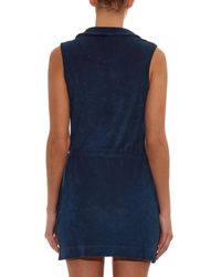 Orlebar Brown - Blue Sanermo Terry-Toweling Dress - Lyst