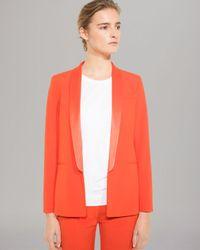 Sandro | Orange Blazer | Lyst