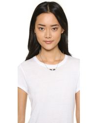Chan Luu | Horn Necklace - Black Horn | Lyst