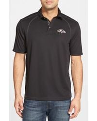Tommy Bahama - Black 'firewall - Baltimore Ravens' Short Sleeve Nfl Polo for Men - Lyst