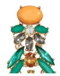 H&M   Multicolor Long Sparkly Stone Earrings   Lyst