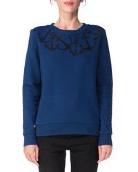 Petit Bateau - Blue Sweatshirt - Lyst