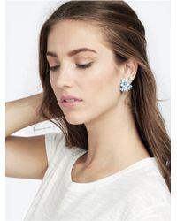 BaubleBar - Blue Cozumel Ear Jackets - Lyst