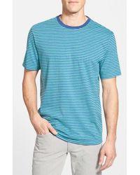 Vineyard Vines Blue Stripe Pima Cotton T-shirt for men